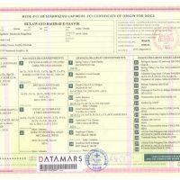 x_Certificate of origin 2